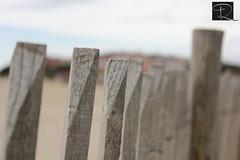 Barrera de protección en la playa