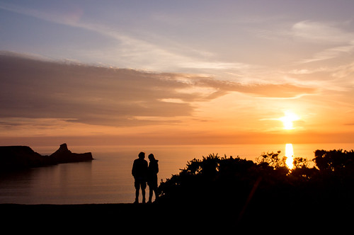 wales unitedkingdom sunsets nationaltrust wfc rhossili nationaltrustwales
