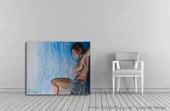 Painting in a room 01
