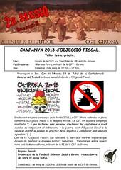 2a. sessió curs 2012-13. Cartell activitats ateneu 19-J de Girona