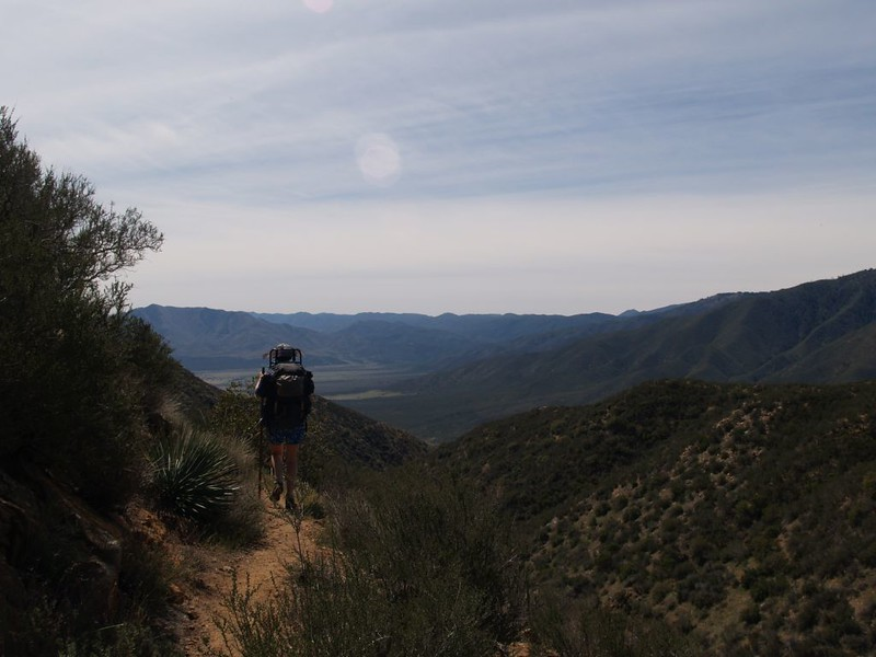 PCT San Felipe Hills - looking south toward Granite Mountain