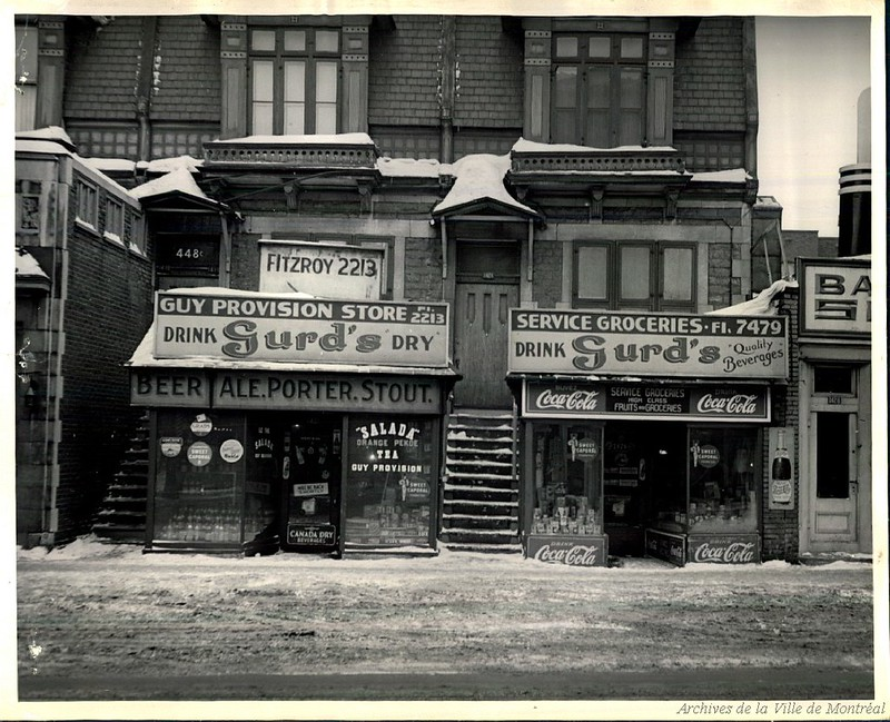 Maison de prostitution au 424 rue Guy, années 1940. P43-3-2_V24_E220-001