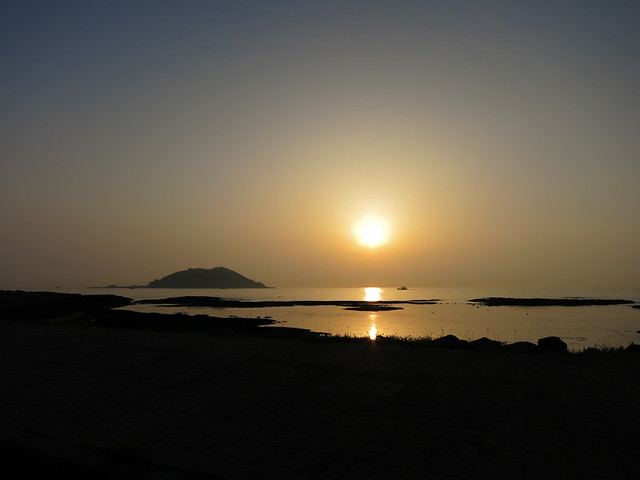 Jeju sunset.