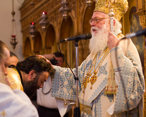 OCMC News - Anastas Bendo Ordained to Priesthood in Albania