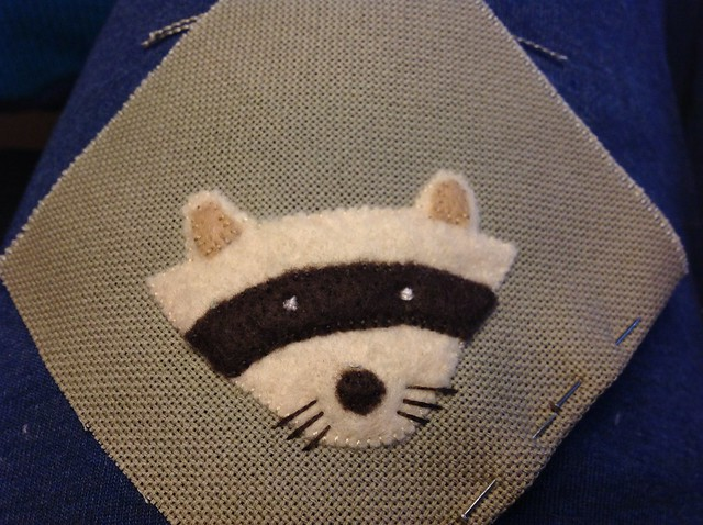 WIP Small KAHKI SCOUTS badge
