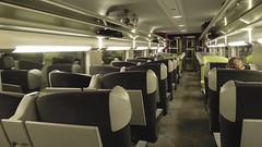 First Class car, SNCF TGV, Paris to Milan - Photo of Saint-Désiré