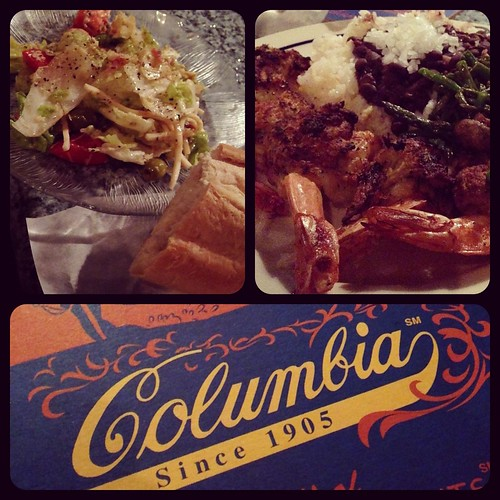 Columbia restaurant stuffed shrimp