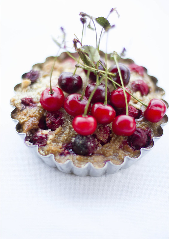 Sour Cherries - Clafoutis