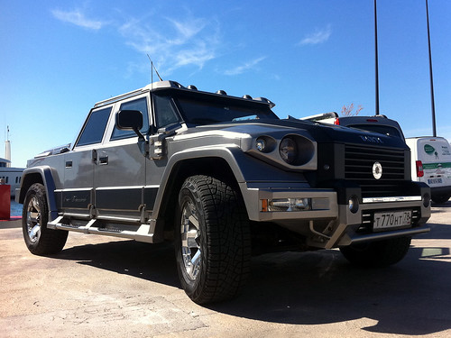 Kanye West spends $2 Mill on DARTZ PROMBRON Bomb Proof trucks