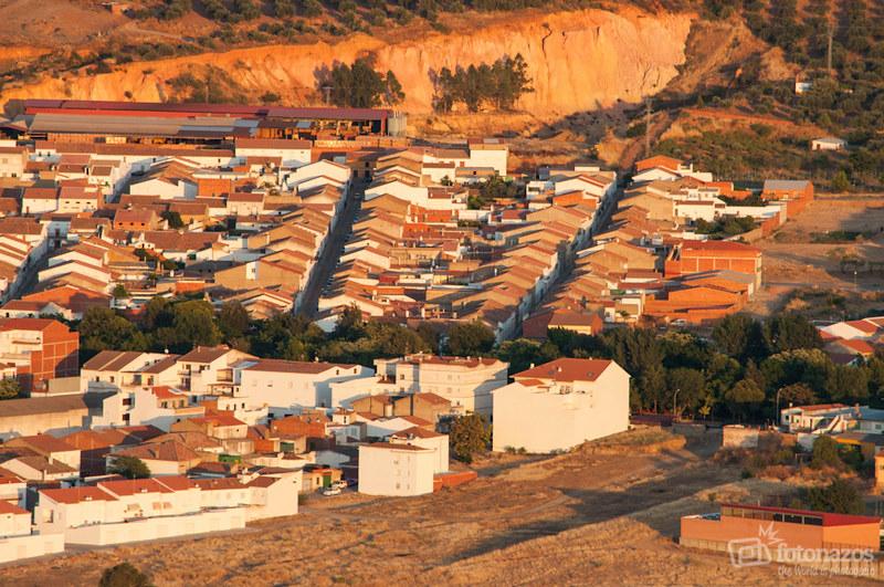 La Cabeza Almagrera, vistas de Cabeza del Buey