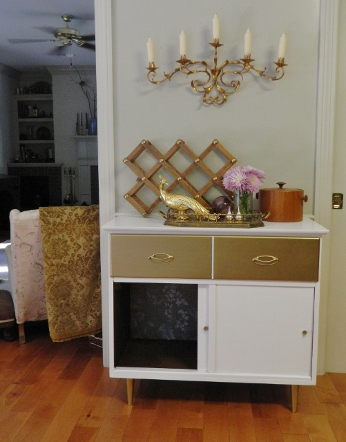 hollywood regency cabinet