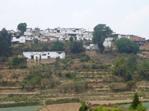 Yunnan13-Yuanyang-Kunming-Route (119)