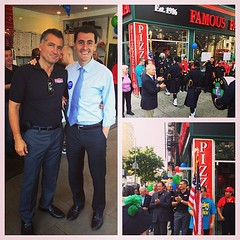 Excited to celebrate the 27th anniversary of Famous Famiglia on West 96/Amsterdam! Great #uws #smallbiz