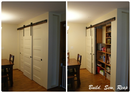 Awesome Barn Door In Action