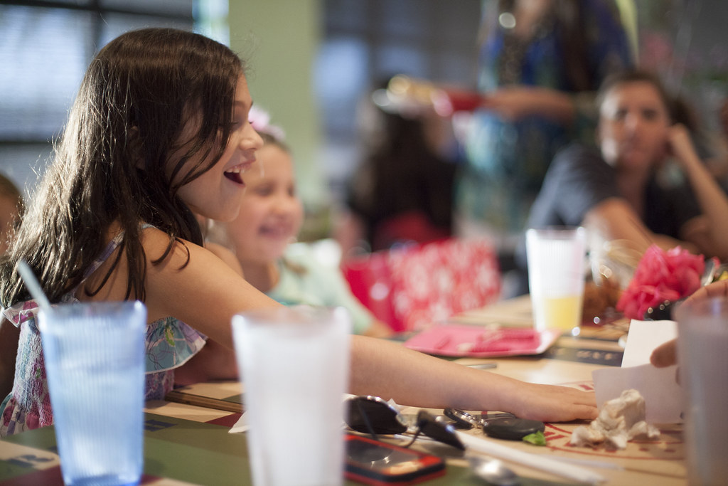 Aliyah's 7th Birthday Dinner