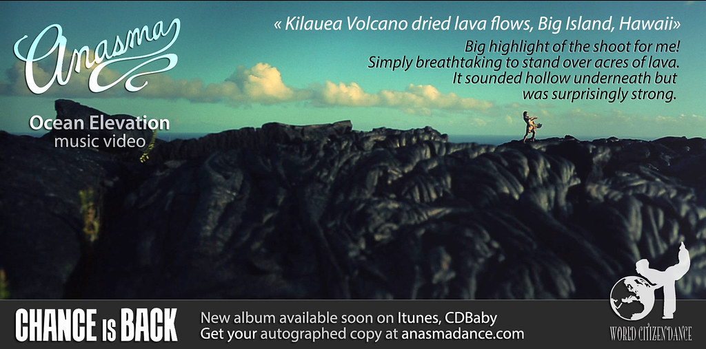 Anasma Music Video Ocean elevation teaser photo 24 lava fields Big highlight of the shoot for me!