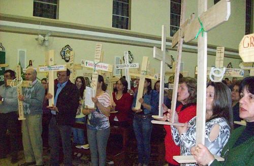 Celebração integra programação das Santas Missões Populares no município.