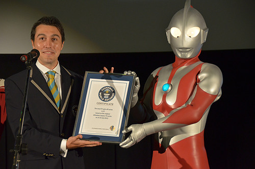 130913 - 特攝英雄《ウルトラマン》(超人力霸王 Ultraman)締造「全球史上最多系列的電視影集」金氏世界紀錄、無人能敵! 1
