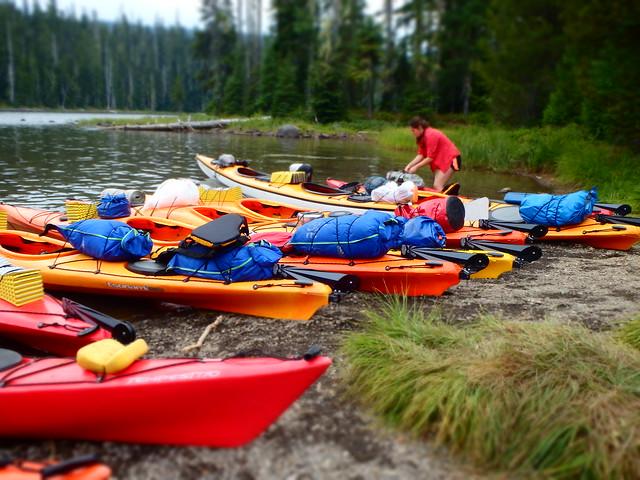 NST 2013: Hike & Kayak Waldo Lake