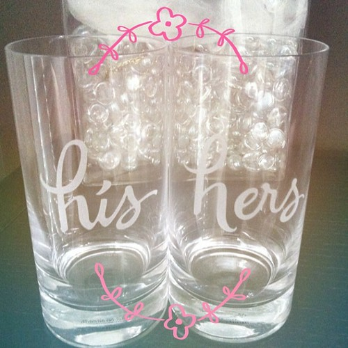 Beautiful highball tumblers from @thelostweb and Kathryn!
