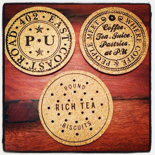 Interesting coasters at Penny University when they first opened.