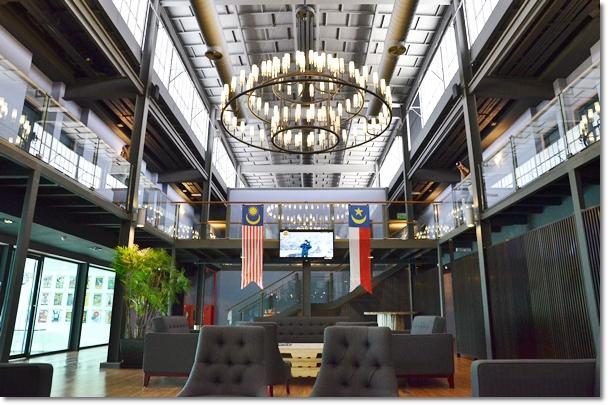 Quayside Hotel Lobby