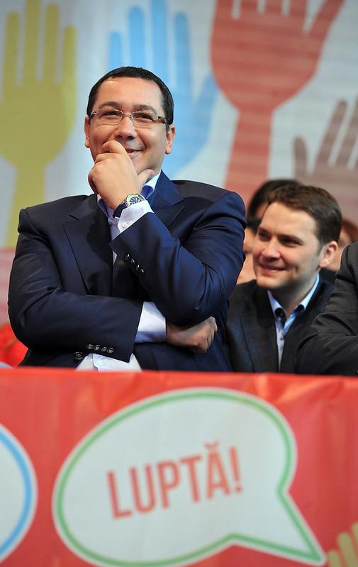 Victor Ponta la Congresul TSD, Brasov