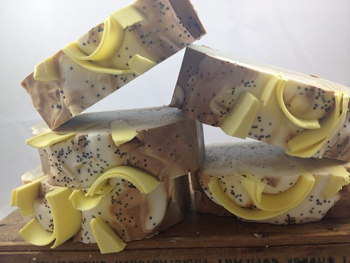 Lemon Cake Soap by The Daily Scrub