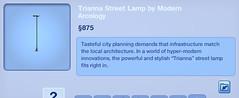 Trianna Street Lamp by Modern Arcology