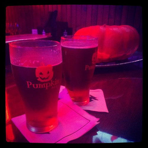 @RivertownBrew Pumpkin Ale @JimmyGsCincy for Steak :30 Wednesday's...
