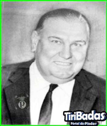 Presidente do Palmeiras do Sr. Delfino Facchina