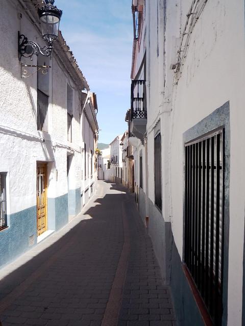 Weißes Dorf in der Sierra Segura