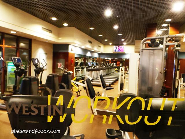 westin grande sukhumvit hotel workout