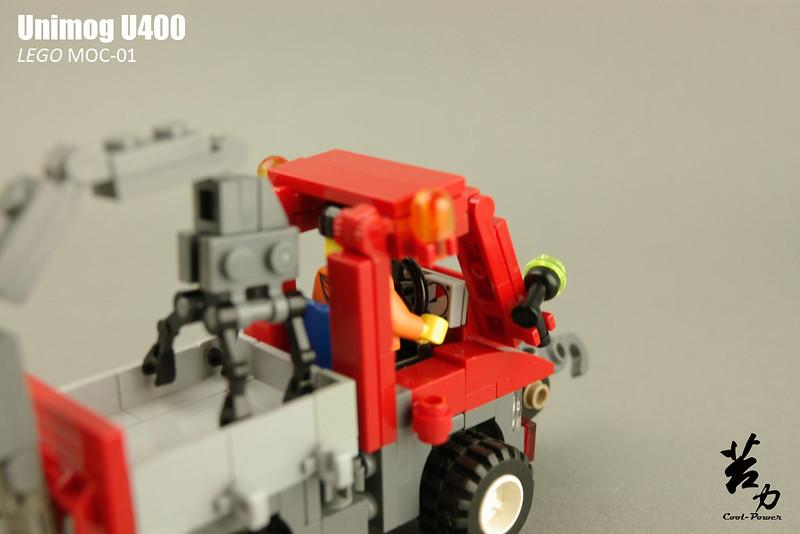 Lego Unimog U400-0011