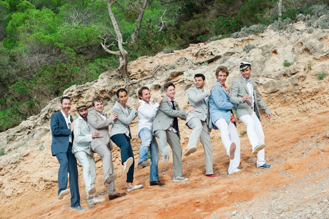 Stephanie & James, real Ibiza wedding