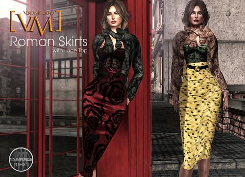 [VM] VERO MODERO Roman Skirt Sets 2