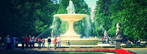 Ogród Saski (Saxon Garden), Warsaw
