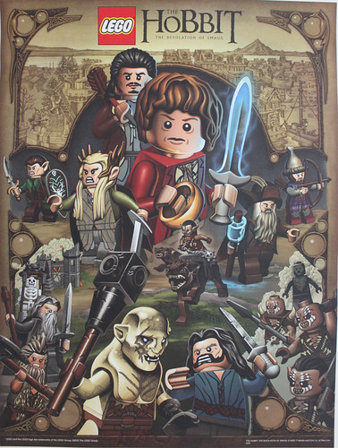 LEGO The Hobbit: The Desolation of Smaug Poster