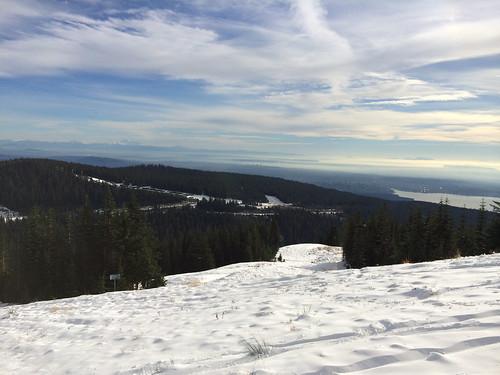 Skiing on Cypress Mountain (November 24, 2013)