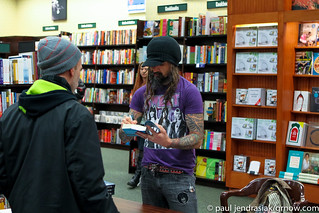 Rob Zombie Book Signing