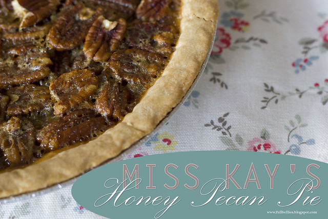 Miss Kay's Honey Pecan Pie