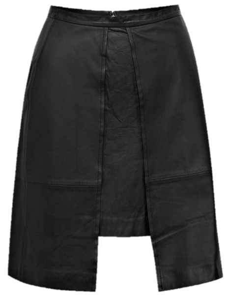 French Connection nevada leather skirt