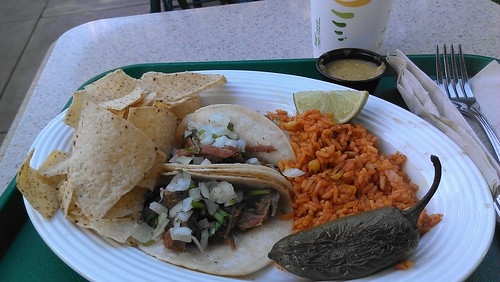 Street-style Barbacoa Tacos