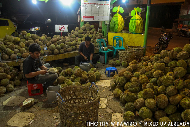 Indonesia - North Sumatra - Medan - Durian Ucok