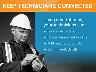 Service Manager Plus - Keep Technicians Connected