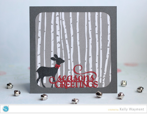 Birch Trees Card by Kelly Wayment