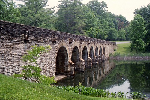 Bridge at Cumberland Mountain State Park