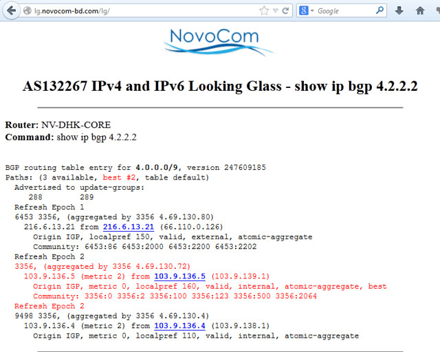 How to set up BGP Looking Glass server on CentOS - Xmodulo