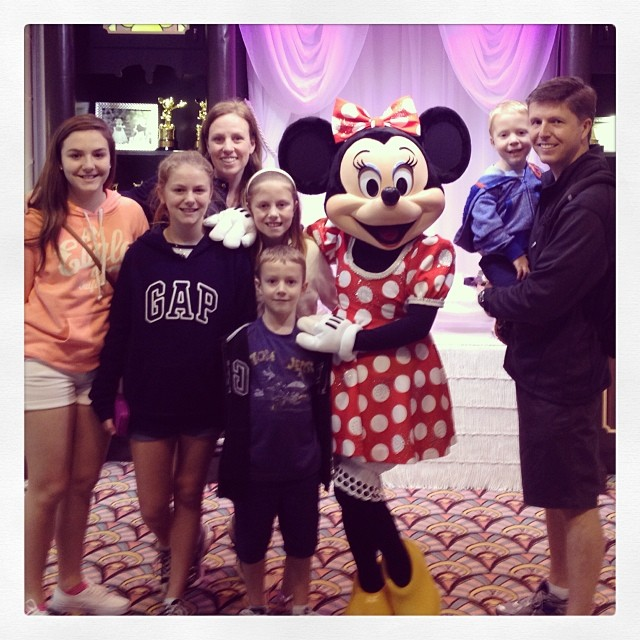 Minnie was there too!