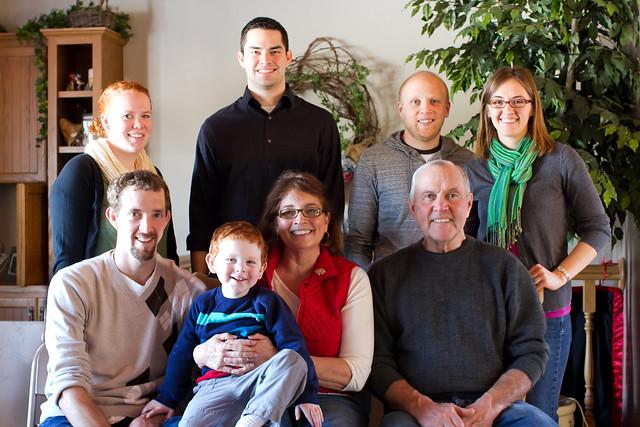 Earle, Dianne, Sara, Patrick, Nathan, Nickie, Ben & Luke